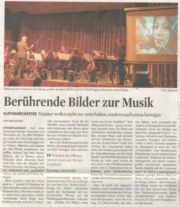 Artikel KstA Konzert 2015