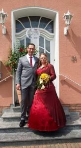 vereinsinterne Hochzeit