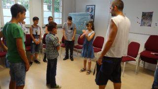 Interkulturelle Arbeit: Rap, Hip-Hop, Bodypercussion in Zusammenarbeit mit dem Jugendzentrum in Köttingen