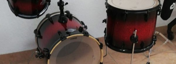 Neues Drum-Set